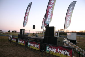 Color Vibe 5K Stage